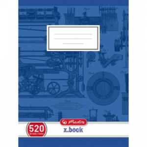Zošit Herlitz 520 A5 čistý 70g/m2