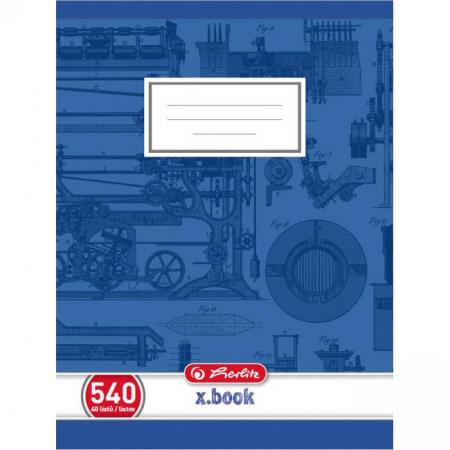 Zošit Herlitz 540 A5 čistý 70g/m2