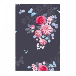 Diár Cheftimer A5 1D/1st Ladylike kvety 2020