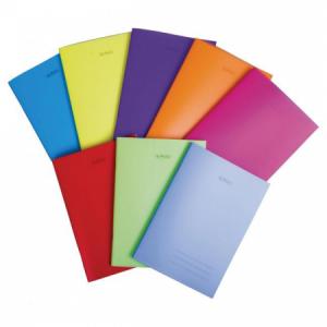 Zošit Herlitz 464 A4 s PP obalom mix farieb