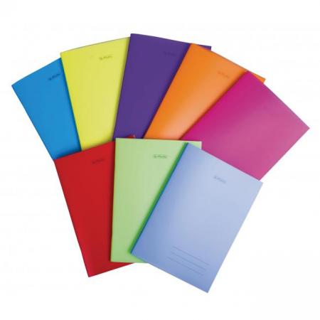 Zošit Herlitz 564 A5 s PP obalom mix farieb