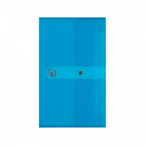 Plastový obal DL s cvočkom Herlitz Easy Orga priehľadný modrý