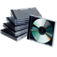 Obal na CD/DVD Jewel čierny...