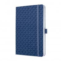 Zápisník JOLIE modrý A5
