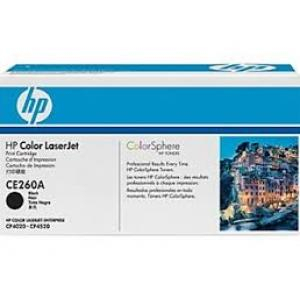 Toner HP CE260A LaserJet CP4525 black