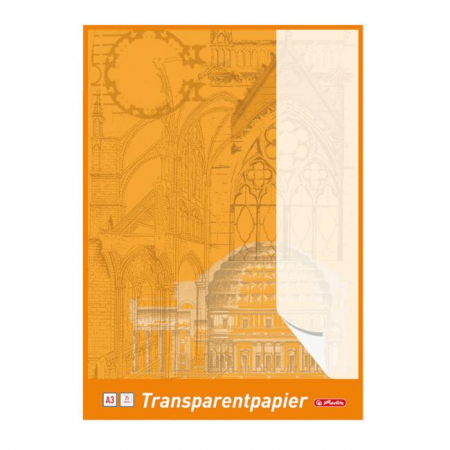 Pauzovací papier Herlitz A3 25 listov 65g