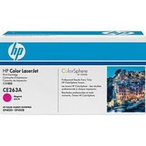 Toner HP CE263A LaserJet CP4525 magenta
