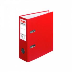Zakladač pákový Herlitz maX.file A5 7,5cm na výšku červený