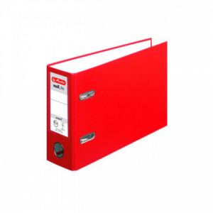 Zakladač pákový Herlitz maX.file A5 7,5cm na šírku červený