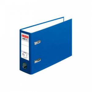 Zakladač pákový Herlitz maX.file A5 7,5cm na šírku modrý