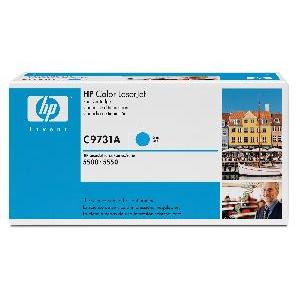 Toner HP C9731A, cyan 5500