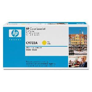 Toner HP C9732A, yellow 5500