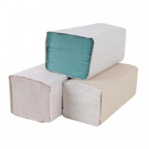 Papierové uteráky skladané ZZ 1-vrstvové biele