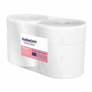 Toaletný papier 2-vrstvový Harmony Premium Jumbo 26cm