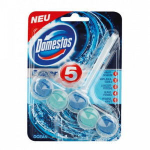 Domestos WC Power5 Oceán 55g guľôčky do WC