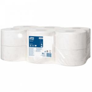 Toaletný papier 2-vrstvový TORK Mini Jumbo 18,8cm biely 12ks