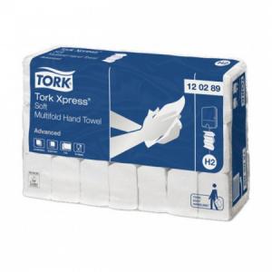 Papierové uteráky skladané ZZ 2-vrst. TORK Xpress Multifold splachovacie