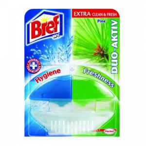Bref Duo Aktiv WC záves.gél 50ml Borovica