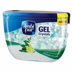 Ambi Pur gélový osviežovač 150ml Crystal Eucalyptus&Lime