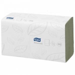 Papierové uteráky skladané jemné TORK Singlefold zelené