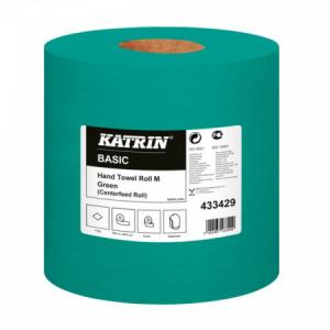 Priemyselné uteráky KATRIN Basic M zelené 6ks