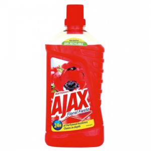 Ajax na podlahy Floral Fiesta 1l Divé kvety červený
