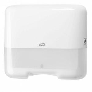 Mini zásobník na skladané uteráky TORK Singlefold/C-fold biely