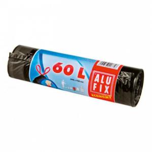 Vrecia zaťahovacie 60l 15µ 640x700mm 10 ks čierne