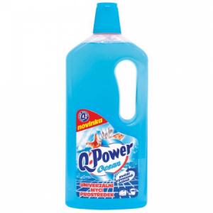 Q-Power UNI čistič na podlahy a povrchy 1l Oceán