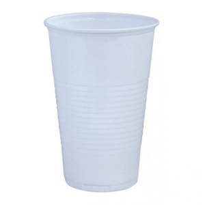 Poháre plastové 500ml 50ks biele