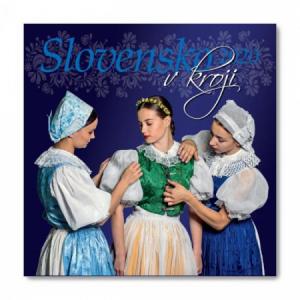 Nástenný kalendár Slovensko v kroji 2020
