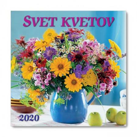 Nástenný kalendár Svet kvetov 2020