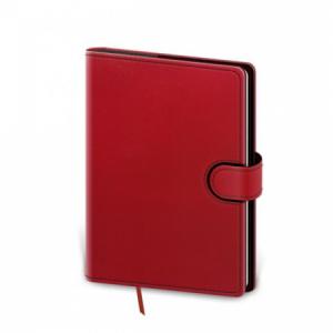 Diár Flip týždenný A5 14,3x20,5cm - červeno/čierny 2020