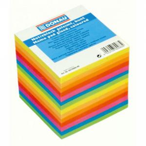 Bloček kocka lepená 90x90x90mm farebná