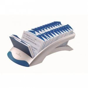 Stolový záznamník TELINDEX Desk VEGAS strieborný/modrý