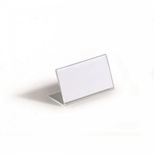 Menovka na stôl akrylová DURABLE 52x100mm