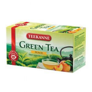 Čaj TEEKANNE zelený Broskyňa 35g