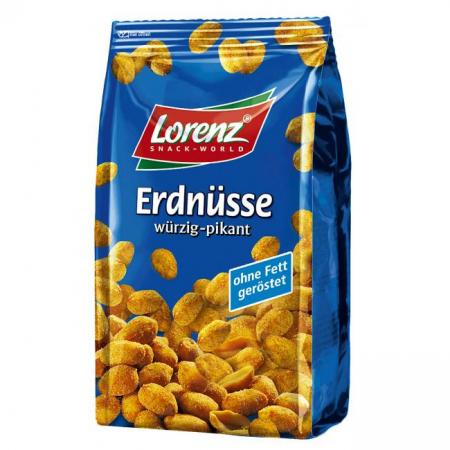 Arašidy Lorenz korenené-pikantné 150g