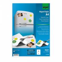 Magnetický papier A4 SIGEL, 5 listov