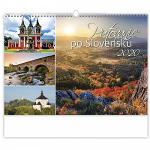 Nástenný kalendár Putovanie po Slovensku 2020