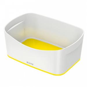 Stolný box Leitz MyBox biela/žltá