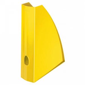 Stojan na časopisy Leitz WOW žltý