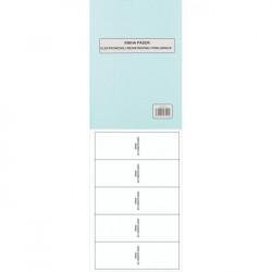 Kniha uzávierok elektr.reg.pokladnice A4 48 strán tvrdá väzba