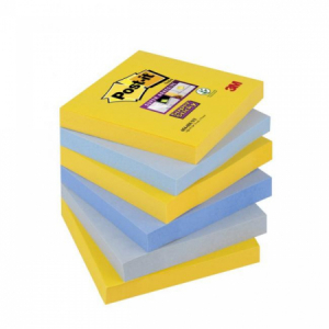 Bločky Post-it Super Sticky _New York_ 76x76mm