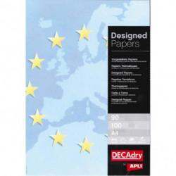 Ilustračný papier Europa modrá 90g 100 hárkov
