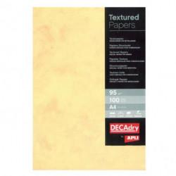 Štrukturovaný papier Mramor zlatá 95g 100 hárkov