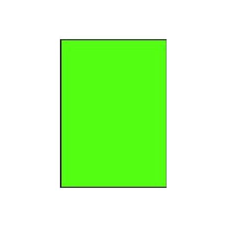 Etikety farebné 210x297mm APLI A4 20 hárkov fluo zelené