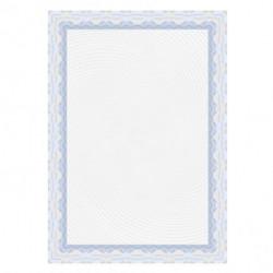 Certifikačný papier APLI A4 modrý 115g 25 hárkov