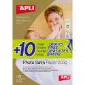 Fotopapier APLI A4 Satin 200g 20 hárkov