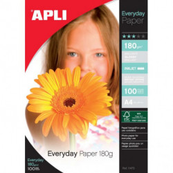 Fotopapier APLI A4 Everyday 180g 100 hárkov